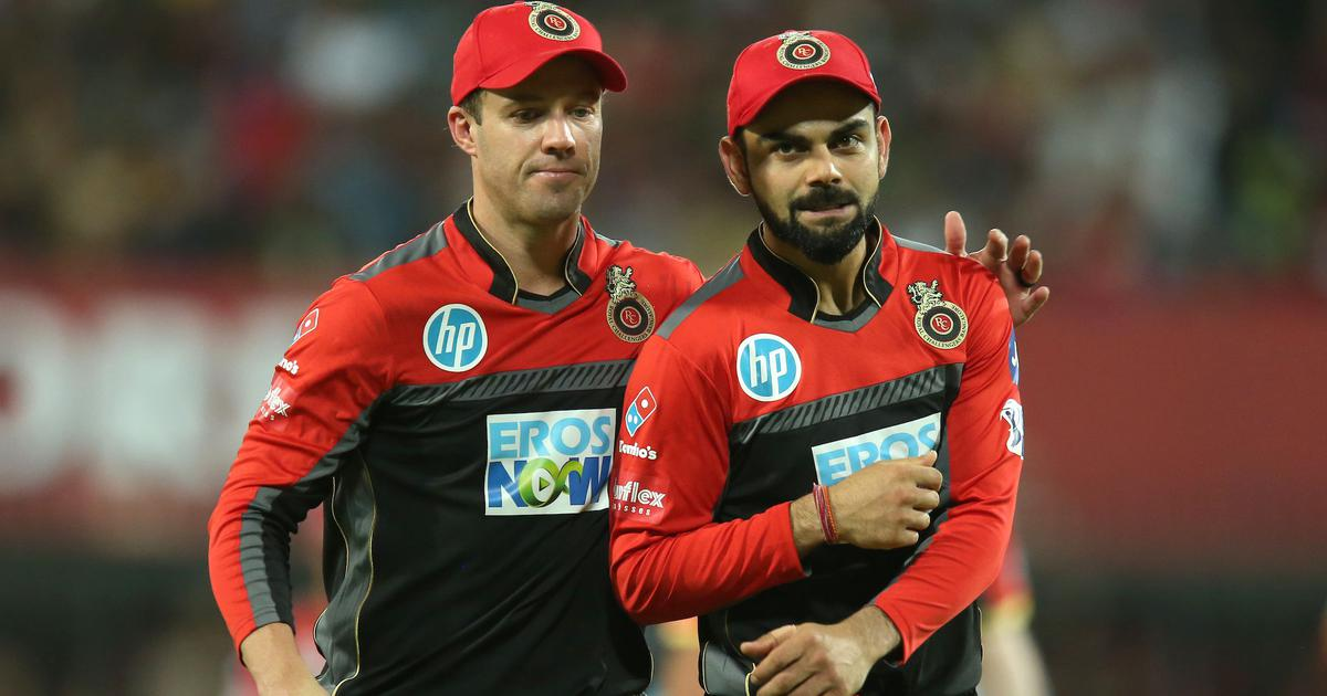 From One Royal Challenger To Another: Virat Kohli Showers Praise On AB De Villiers