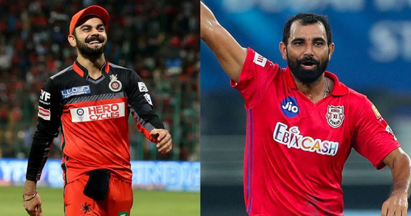 Virat Kohli receives great praise from fast bowler Mohd. Shami