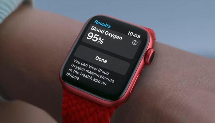 blood oxygen measurement apple watch