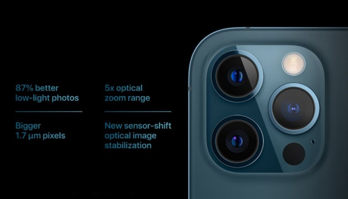 iphone 12 Pro and Pro Max Camera