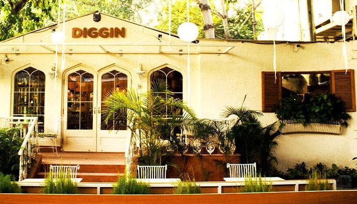 Diggin Cafe Chanakyapuri