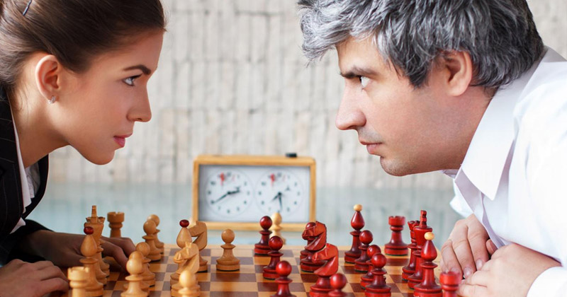 Do men play chess better than women