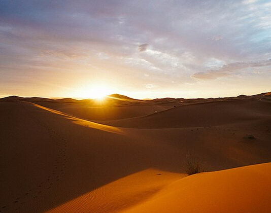 How Did The Sand Get Into The Sahara Desert