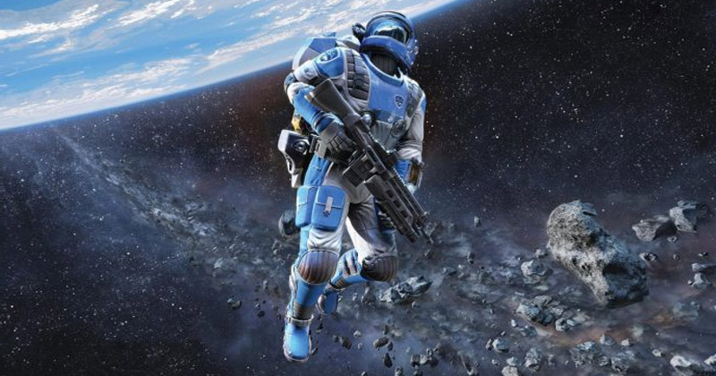 Astronaut With gun in Space | Can Guns Shoot In Space