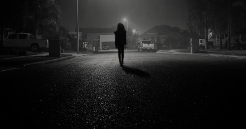 Woman Walking In the Dark | Poem on Darkness