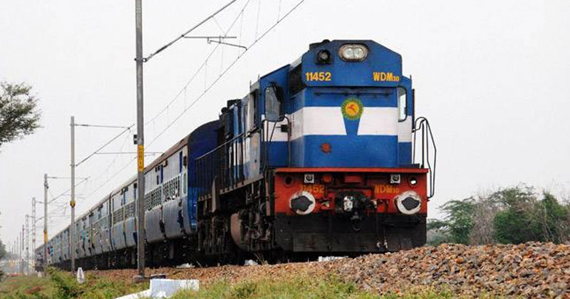 Indian Railways Passenger Locomotive | Indian Railways to Provide Full Refund on Ticket Due to Ongoing Kisan Andolan