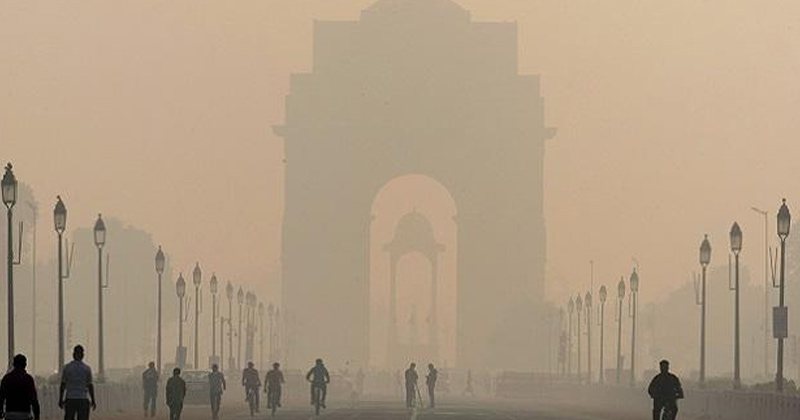 India Gate | Air pollution Delhi