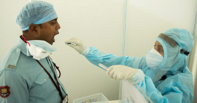 Doctor Taking Covid Sample | Israel Covid Cure