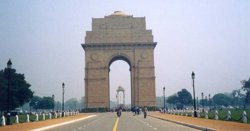 India Gate | Warmest February 2021