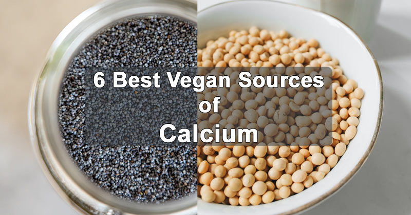 Chia Seeds And Soy Beans | Vegan Sources of Calcium