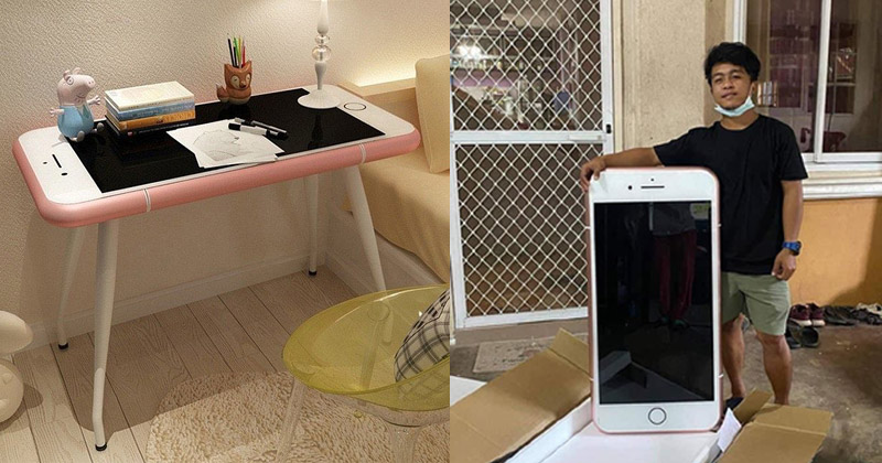 iPhone shaped coffee table - Thailand Teen