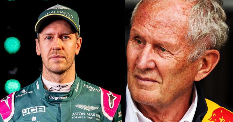Hemlut Marko on Sebastian Vettel