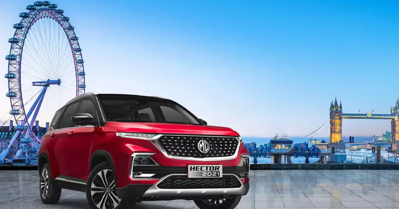 MG Hector | MG Hector Sales Figure March 2021