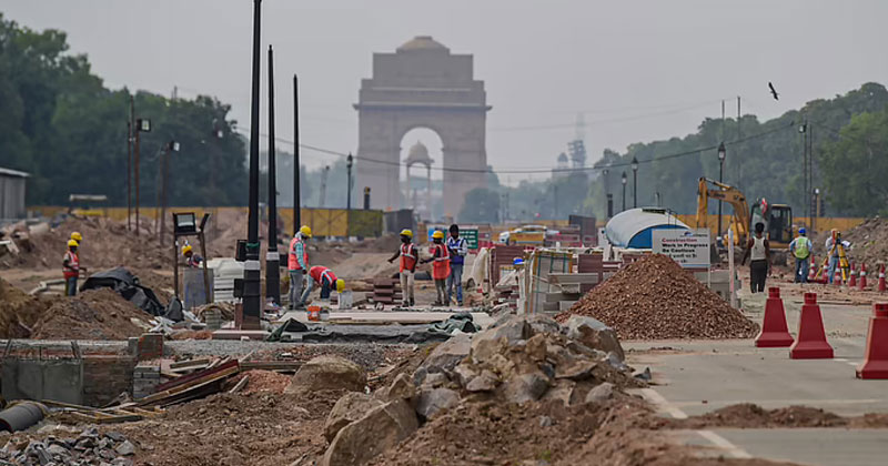 Construction Work Going Ahead At Rajpath for Central Vista Project | Iconic Delhi Buildings to be Destroyed for Central Vista