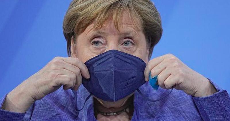 Angela Merkel on Covid