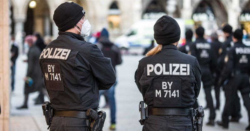 German police personnel   Germany Arrests Russian Scientist for Spying