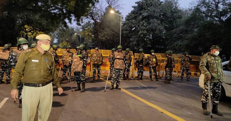 Israel Embassy Delhi Blast