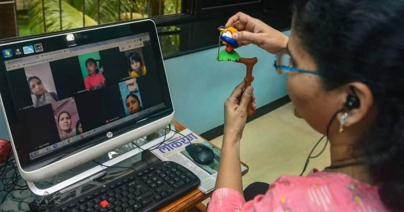 Mumbai Online Classes Interrupted by Porn Clip