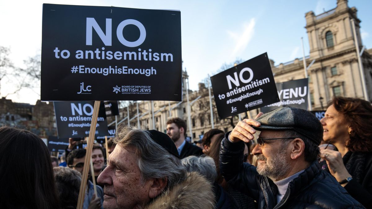 antisemitism in London