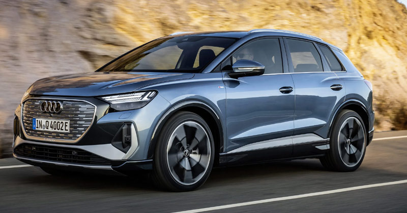 Audi Q4 Electric Car | Audi Electric Cars News