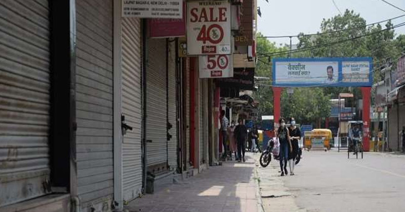 Lajpat Nagar Central Market   Closed For Flouting Covid Norms