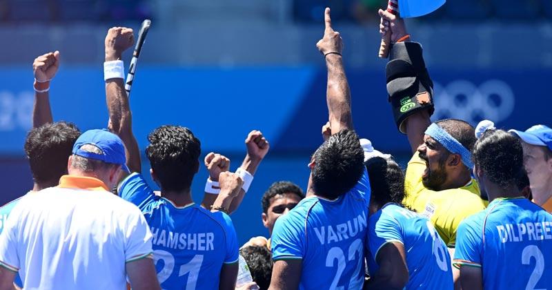 Indian men's Hockey team Bronze tokyo olympics 2020