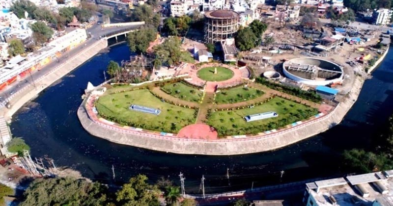 Indore first water plus city of india