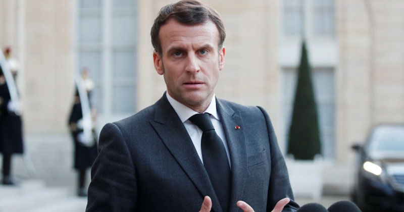 Macron on Algeria news